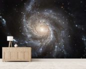 Giant Spiral Disk of Stars wall mural living room preview