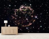 Supernova Remnant Cassiopeia A - December 2004 wall mural living room preview