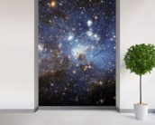 Star-Forming Region LH 95 in the Large Magellanic Cloud wallpaper mural in-room view