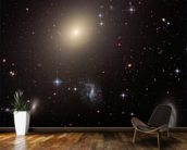 Hubble Illuminates Cluster of Diverse Galaxies mural wallpaper kitchen preview