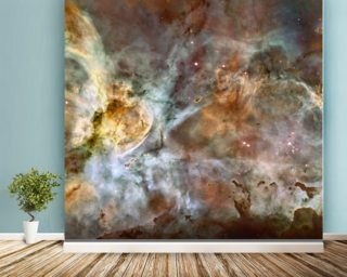 The Carina Nebula: Star Birth in the Extreme wallpaper mural