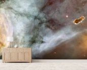 Carina Nebula Details: The Caterpillar wall mural living room preview