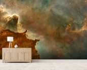 The Carina Nebula: Star Birth in the Extreme wallpaper mural living room preview
