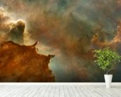 The Carina Nebula: Star Birth in the Extreme wallpaper mural in-room view
