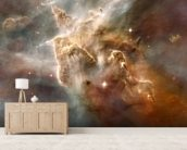 Star-Forming Region in the Carina Nebula: Detail 1 mural wallpaper living room preview
