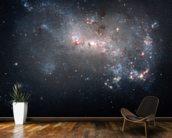 Stellar Fireworks Are Ablaze in Galaxy NGC 4449 mural wallpaper kitchen preview