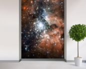 Full Hubble ACS Image of NGC 3603 wall mural in-room view