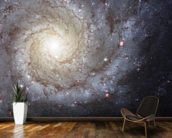Spiral Galaxy M74 mural wallpaper kitchen preview