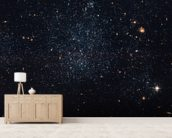Dwarf Galaxy Holmberg IX wall mural living room preview