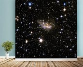 Hubble Interacting Galaxy ESO 99-4 mural wallpaper in-room view