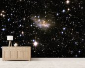 Hubble Interacting Galaxy ESO 99-4 mural wallpaper living room preview