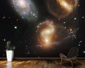 Galactic Wreckage in Stephan's Quintet wall mural kitchen preview