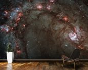 Star Birth in Galaxy M83 wall mural kitchen preview