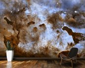 Cosmic Ice Sculptures: Dust Pillars in the Carina Nebula wall mural kitchen preview