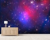 Pandora's Cluster – Abell 2744 wallpaper mural living room preview