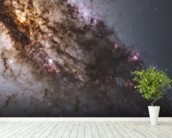 Active Galaxy Centaurus A mural wallpaper in-room view