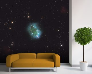 A Cosmic Necklace Larger than a Solar System wall mural