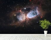 Hubble/Subaru Composite Image of Star-Forming Region S106 mural wallpaper in-room view