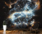 A Cosmic Holiday Ornament, Hubble-Style wall mural kitchen preview
