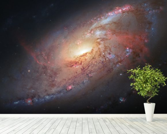 Astronomers Create a Cosmological Masterpiece wallpaper mural room setting