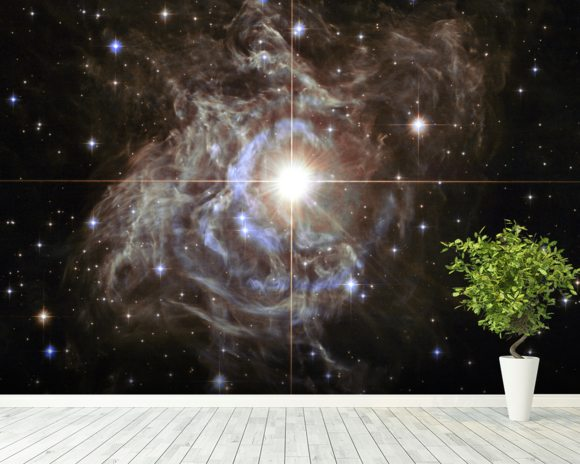 Cepheid Variable Star RS Puppis wallpaper mural room setting