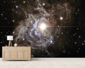 Cepheid Variable Star RS Puppis wallpaper mural living room preview