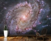 Spiral Galaxy M83 mural wallpaper kitchen preview