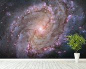 Spiral Galaxy M83 mural wallpaper in-room view