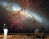 M82 Hubble Mosaic with 2014 Supernova wall mural kitchen preview