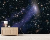 Hubble-Chandra Composite of ESO137-001 mural wallpaper living room preview