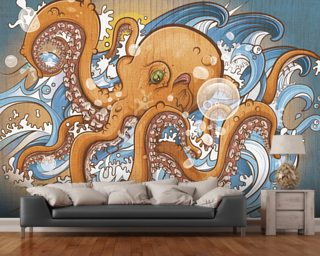 Surfing the 8 Legged Waves (2013) Wallpaper Wall Murals
