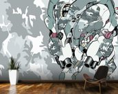 Urban Camo Protection Bot (2012) mural wallpaper kitchen preview