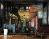 Subterranean (2012) wall mural kitchen preview