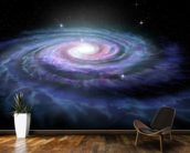 Spiral Galaxy Milky Way mural wallpaper kitchen preview