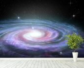 Spiral Galaxy Milky Way mural wallpaper in-room view