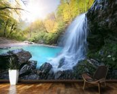 Beautiful Waterfall wall mural kitchen preview