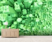 Green City Concept 3D wall mural living room preview