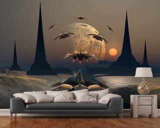 Wall Paper Murals fantasy wallpaper & science fiction wall murals | wallsauce usa