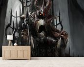Dark King wall mural living room preview