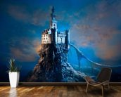 Mysterious Castle mural wallpaper kitchen preview