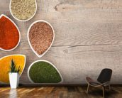Herbs and Spices mural wallpaper kitchen preview