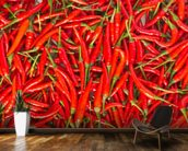 Hot Chilli Peppers wall mural kitchen preview