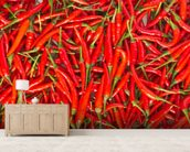 Hot Chilli Peppers wall mural living room preview