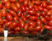 Plumb Tomatoes wallpaper mural kitchen preview