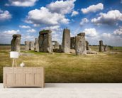 Stonehenge Up Close wall mural living room preview