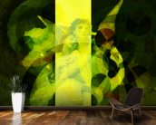 Avientame - Yellow mural wallpaper kitchen preview