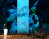 Avientame - Blue wall mural kitchen preview