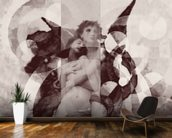 Avientame - Sepia wallpaper mural kitchen preview