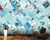 Glacier wall mural kitchen preview