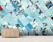 Glacier wall mural living room preview